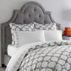 On Sale Grey Hollywood Duvet Cover