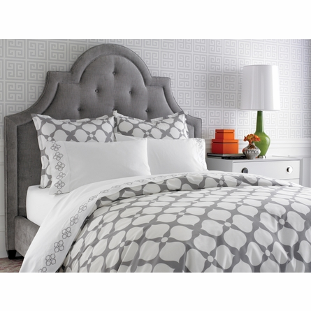 Grey Hollywood Duvet Cover