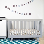 Grey Hudson Convertible Crib