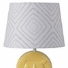 Grey Maze Lamp Shade