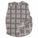 Grey Owl Muslin Reversible Sleep Sack