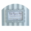 Grey Striped Cottage Frame