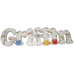 Griffin Owls Hand Painted Wall Letters