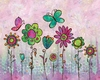 Groovy Blooms I Wall Art