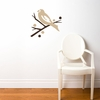 Grosbeak Bird in Beige Wall Decal