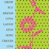 Grow Fly Dream Canvas Reproduction