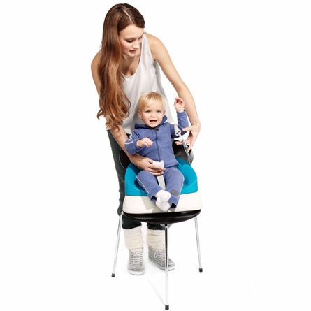 Grow up Booster Seat in Aqua
