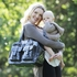Gunmetal Patent Carry All Diaper Bag