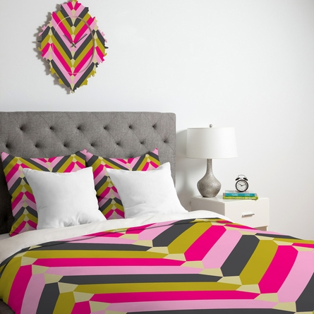 Gypsy Chevron Duvet Cover