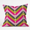 Gypsy Chevron Throw Pillow