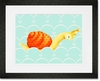 Gypsy the Sea Snail Framed Art Print