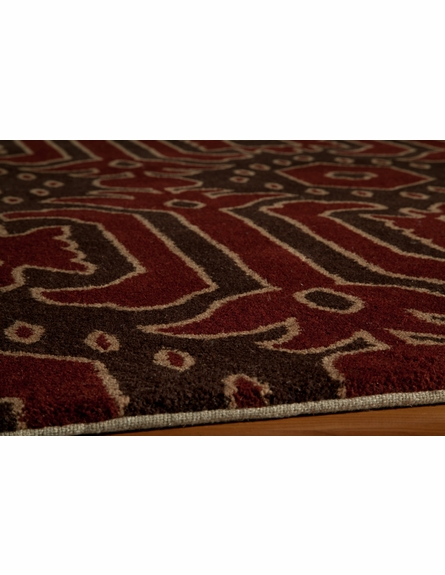 Habitat Tribal Brown Rug