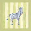 Hadley the Zebra Canvas Reproduction