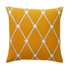 Hadley Throw Pillow in Mustard