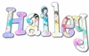 Hailey Fairy Princess Hand Painted Wall Letters