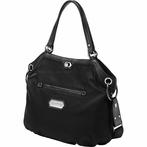 Halifax Hobo Diaper Bag - Black Chai Tea Cake