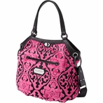 Halifax Hobo Diaper Bag - Dragonfruit Cake