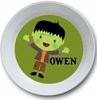 Halloween Boy Personalized Bowl