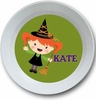 Halloween Girl Personalized Bowl