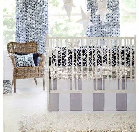 Hampton Bay Crib Skirt