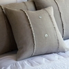 Hampton Natural Porch Pillow