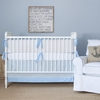 Hampton Seersucker 3-Piece Crib Bedding Set
