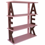 Hand Painted Custom Monogram Shelf