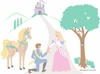 Happily Ever After Paint by Number Wall Mural