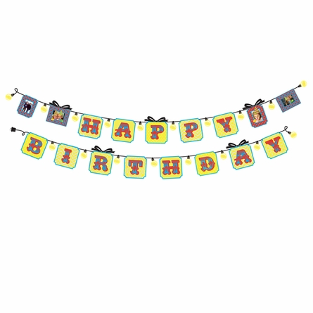 Happy Birthday Sticker Banner