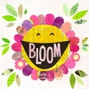 Happy Bloom Canvas Wall Art