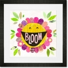 Happy Bloom Framed Art Print