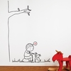 Happy Dog Wall Decal