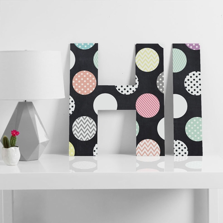 Happy Dots Decorative Letters