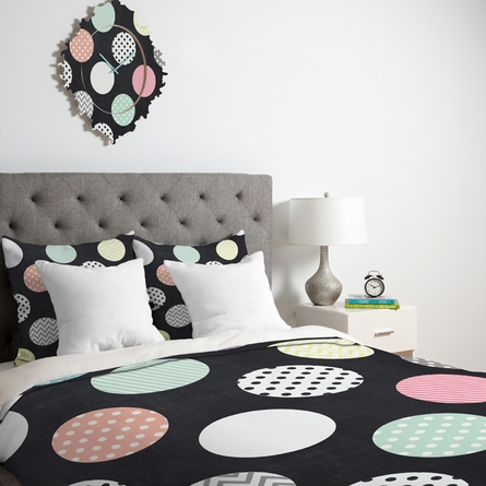 Happy Dots Duvet Cover