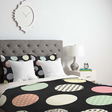 Happy Dots Lightweight Duvet Cover
