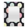 Happy Dots Rectangular Mirror