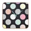 Happy Dots Square Wall Clock