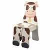 Happy Farm Wooden Cow Chair