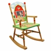 Happy Farm Wooden Rocking Chair