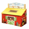 Happy Farm Wooden Toy Box