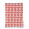 Happy Harlequin Knit Kids Throw Blanket