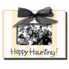Happy Haunting Coal Picture Frame