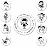 Happy Holidays by Smirk (sm-happy holidays) $(+15.00)
