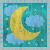 Happy Moon Canvas Wall Art