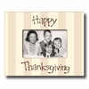 Happy Thanksgiving Bark Picture Frame