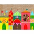 Happy Town Mural Wall Decal