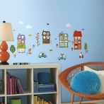 Happy Town Wall Decals