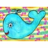 Happy Whale Canvas Wall Art