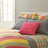 Happy Yellow Stripe Duvet Cover