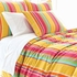 Happy Yellow Stripe Euro Sham
